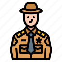 avatar, career, job, occupation, sheriff
