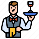 avatar, career, job, occupation, waiter