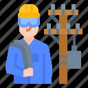 avatar, career, electrician, job, occupation