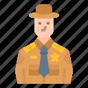 avatar, career, job, occupation, sheriff