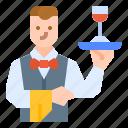 avatar, career, job, occupation, waiter