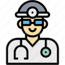 doctor, hospital, man, occupation, profession icon