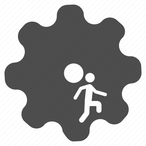 business, employee, gear, job, service, task, work icon