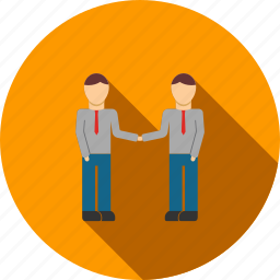 agreement, business, contract, handshake, meeting, partnership, people icon