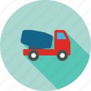 bulk cement, delivery, lorry, transport unit, transportation, truck, vehicle icon