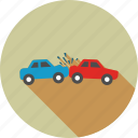 accident, car, crash, damage, danger, hazard, traffic icon