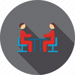 chat, communication, connection, contact, discussion, meeting, talk icon