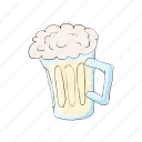alcohol, beer, cartoon, drink, lager, mug, pub icon