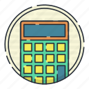 business, calculator, digital, dollar, report icon