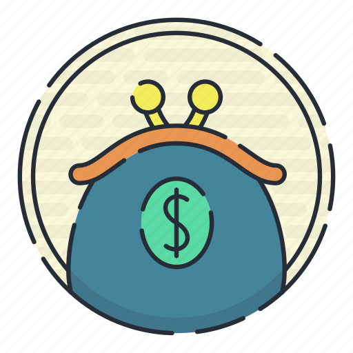 bank, coin, financial, purse icon