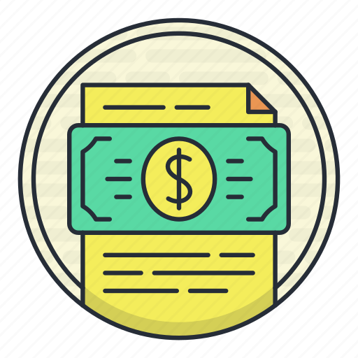 financial, graph, growth, money, statement icon