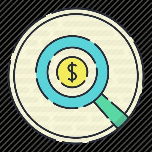 banking, card, casino, finincial, investigation icon