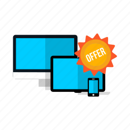 discount, offer, sale icon