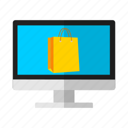 bag, discount, laptop, offer, sale, shopping icon
