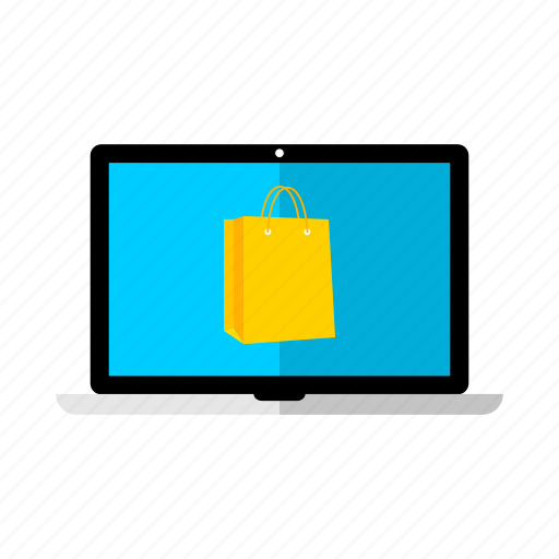 desktop, discount, lcd, monitor, offer, sale, shopping icon
