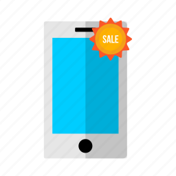 communication, discount, mobile, offer, phone, sale, smart icon