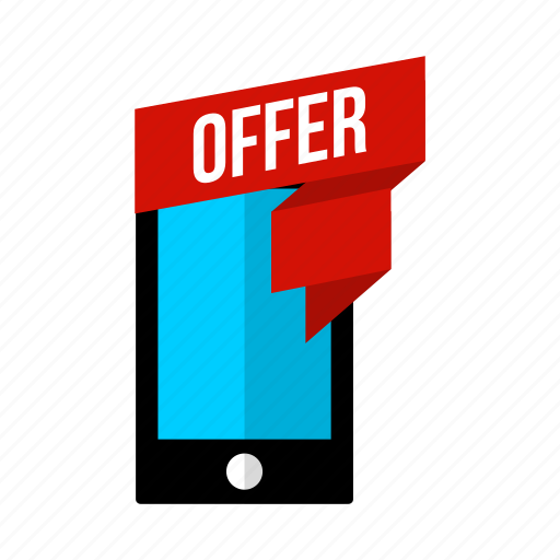 discount, mobile, offer, phone, sale, smart icon