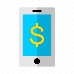 discount, dollar, mobile, money, offer, phone, sale icon