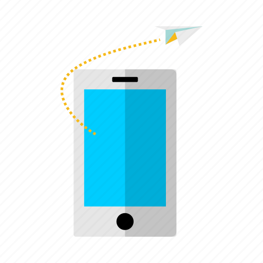 discount, goal, mobilephone, offer, progress, rocket, sale icon