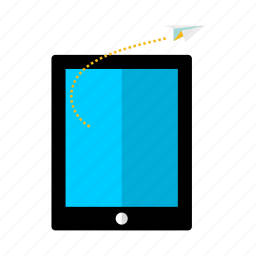 discount, goal, mobile, offer, phone, rocket, sale icon