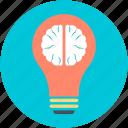 bulb brain, idea concept, invention, science, thinking