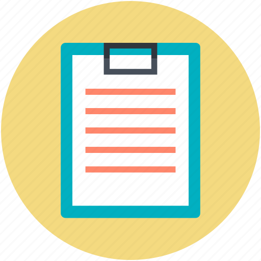 appointment, clipboard, list, paper, plan list icon
