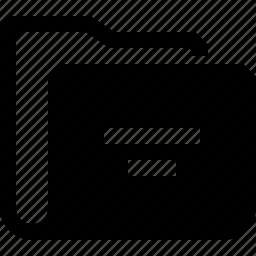 directory, folder, office icon