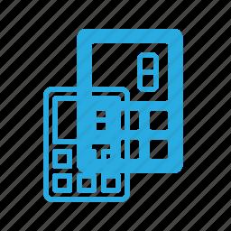 calculate, calculator, math, office icon