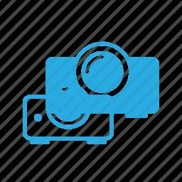office, presentation, projector, projkect icon