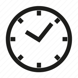 business, clock, office, time icon