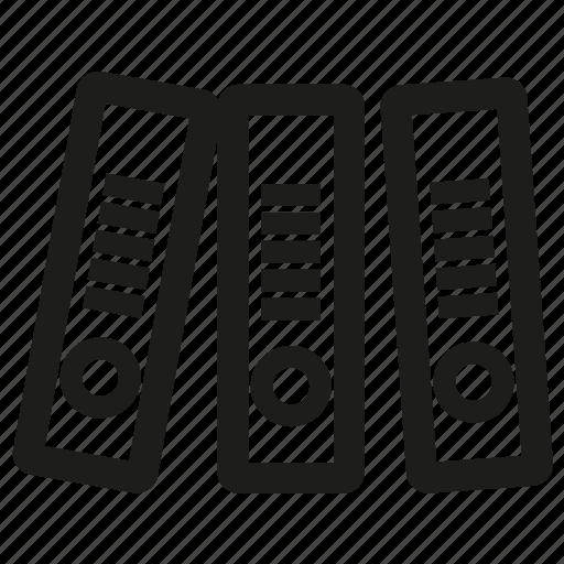 file, folder, folders, office, strationery icon
