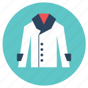 coat, lab coat, uniform icon