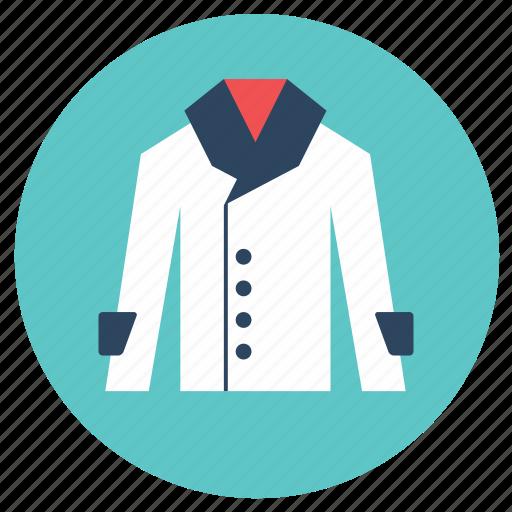 coat, lab coat, uniform icon