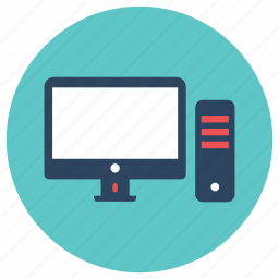 desktop, office, pc icon