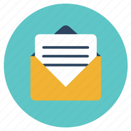 letter, office icon