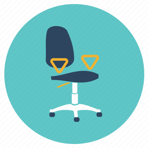 chair, office, rotating icon