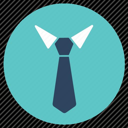 office, tie, uniform icon