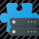 addon, data, database, plugin, server, storage icon