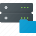data, database, folder, server, storage icon