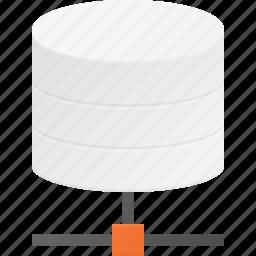 data, database, network, server, storage icon