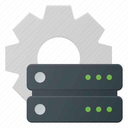 data, database, server, settings, storage icon
