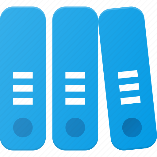 archive, binder, document, file, office icon