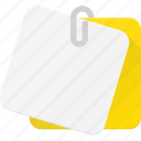 it, note, notes, office, post, postit icon