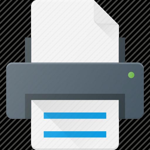 ink, jet, laser, office, print, printer icon