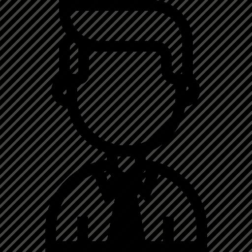 coworker, man, person, personnel icon