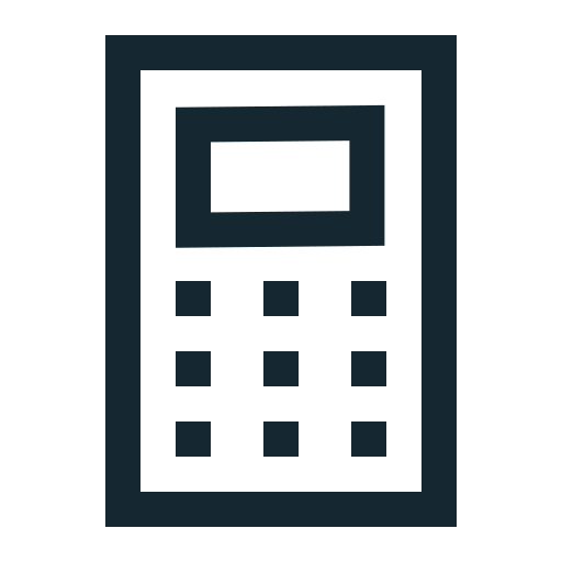 Accounting, budget, calc, calculator, math, numbers, office icon - Free download