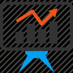 analytics, chart, diagram, graph, presentation, report, statistics icon