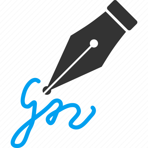 agreement, contract, pen, sign, signature, write, writing icon