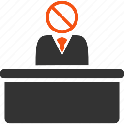 forbid, forbidden, official, reject, restricted, security, stupid icon