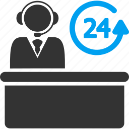 call center, chat, hotline number, operator, phone, reception, telephone icon